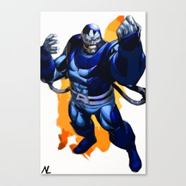 Apocalypse Xmen En Sabah Nur Illustration, Comic Pop Art, Superhero Poster, Comic Book Print Canvas Print