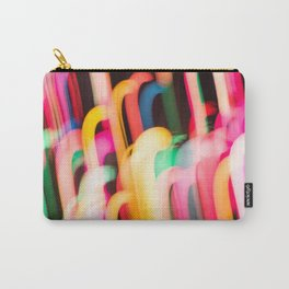 Neon Worms Carry-All Pouch