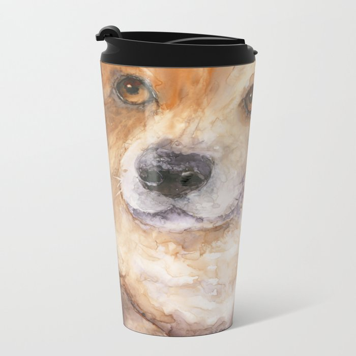 We aren't going to the vet, are we?? Metal Travel Mug