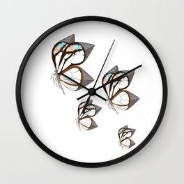 Anxiety Butterflies Wall Clock