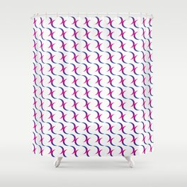 Vivian Wagner – symbol of bisexuality Shower Curtain