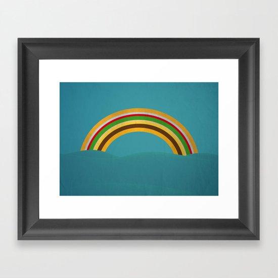 Hambow Framed Art Print