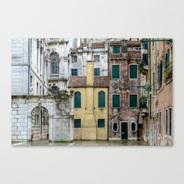 Venezia- Houses Canvas Print
