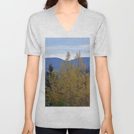 Mont Albert Quebec Unisex V-Neck