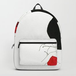 With heart and skirt Backpack