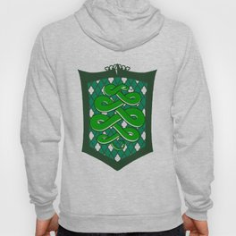 HP Slytherin House Crest Hoody
