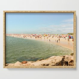 Tavira Beach Portugal Serving Tray
