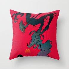 Mister Boogey Throw Pillow