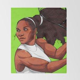 Queen Serena Throw Blanket