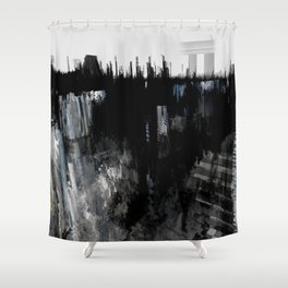 Tokyo in the Ice Age no. 10 Shower Curtain