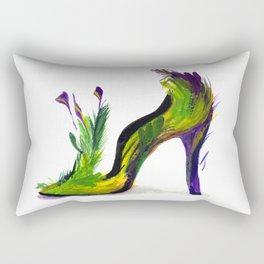 Feathered Heel Rectangular Pillow