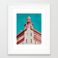 building Framed Art Prints featuring Building by Sweet Moments Captured