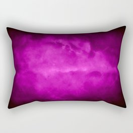 Purple Rain Clouds Rectangular Pillow
