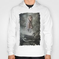mother of dragons Hoodies featuring Mother of Dragons by Flo Tucci
