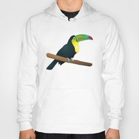 toucan Hoodies featuring Toucan by Li-Bro