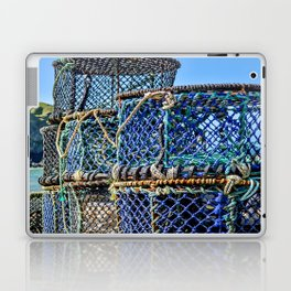 Port Isaac - Lobster Pots Laptop & iPad Skin
