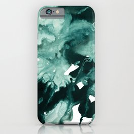 inkblot marble 4 iPhone Case