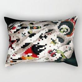 rock-a-bitty Rectangular Pillow