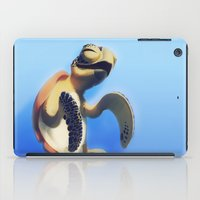 turtle iPad Cases featuring Turtle by Anya McNaughton