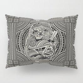 Polynesian Sloth Pillow Sham