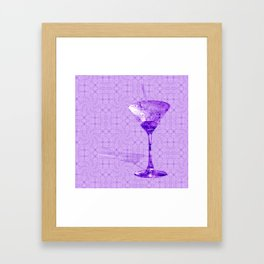 Cocktail for one Framed Art Print