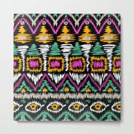 Ethnic American pattern 4 Metal Print