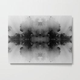 Inkblot Metal Print