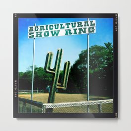 Agriculture Show Ring II Metal Print