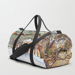 Snow White Point Gardens Duffle Bag