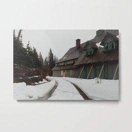 Paradise at Mount Rainier Metal Print