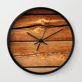 Rustic Wooden Planks  Wood Board Country Gifts Wall Clock