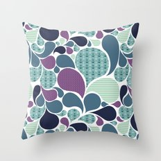 Sea pattern Throw Pillow