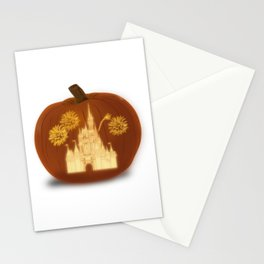 Magical Jack O' Lantern Stationery Cards