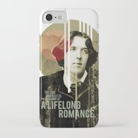 oscar wilde iPhone & iPod Cases featuring Oscar Wilde by LottaLuckDesign