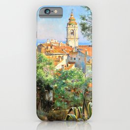Near Menton - Digital Remastered Edition iPhone Case