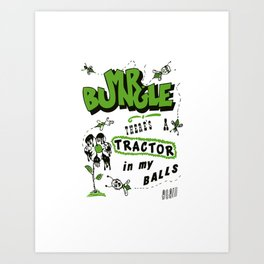mr bungle Art Print