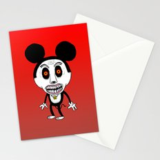Weird Mickey Stationery Cards