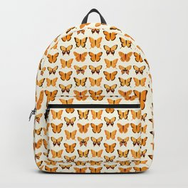 Butterfly Orange Group Of Butterflies Backpack