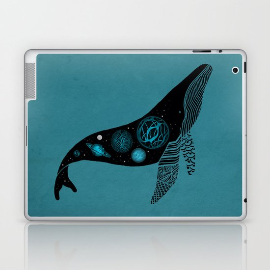Whale Soul & the Galactic Tour Laptop & iPad Skin