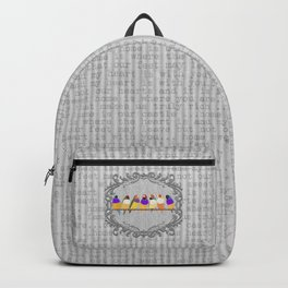 Lady Gouldian Finches Backpack