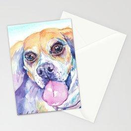 Happy Beagle Stationery Cards