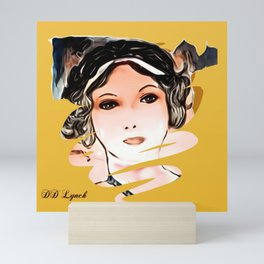 A Face From The 1920s Mini Art Print