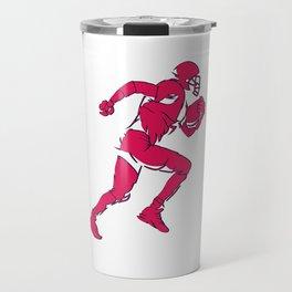 Lineman Football Travel Mug
