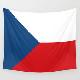 Flag of Czech Republic Wall Tapestry