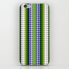 Bright Multicolored Shapes in Vertical Lines iPhone & iPod Skin