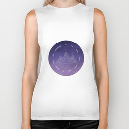 To The Stars Who Listen And The Dreams That Are Answered Biker Tank