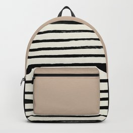 Latte & Stripes Backpack