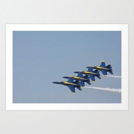 Blue Angels Art Print