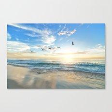 Beach Scene 34 Canvas Print