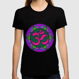 Om Flower | Kids Painting | Mandhala T-shirt